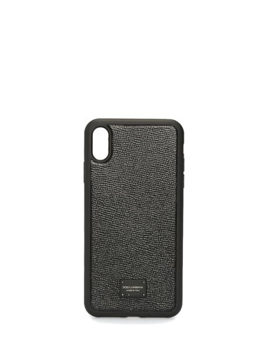 Dolce&Gabbana iPhone XS Max Aksesuar Siyah